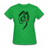 Lady With Red Lips - Women's - bright green