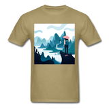 Lady in Pink Hiking - Unisex - khaki