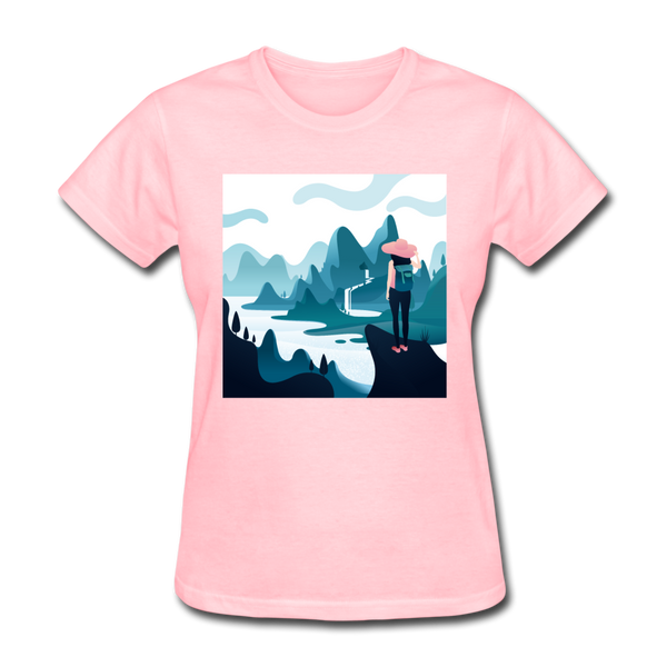 Lady in Pink Hiking - Women's - pink