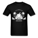 Summer Beach Holiday - Men's Tee - black