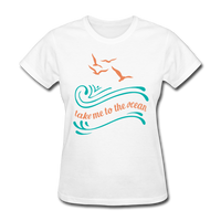 Take Me to the Ocean - 3 - Women's - white