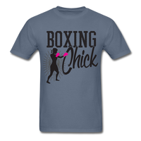 Boxing Chick - Unisex - denim