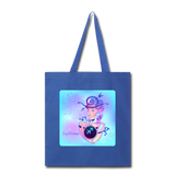 Sagittarius Lady on Blue - Tote - royal blue
