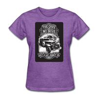 The Cars We Drive - Women's - purple heather