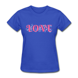 Love Design - Women's - royal blue