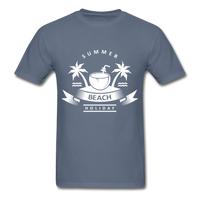 Summer Beach Holiday - Men's Tee - denim
