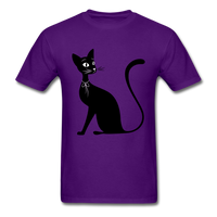 Lady Black Cat - Men's - purple