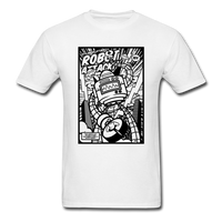 Robot Attack - Men's Tee - white
