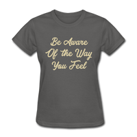 Be Aware - Women's - charcoal