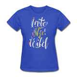 Into the Wild - royal blue