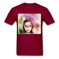Beautiful Lady Butterfly - Unisex - burgundy