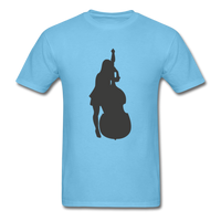 Lady with a Cello - Men's - aquatic blue