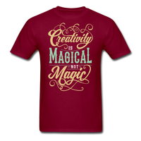 Creativity is Magical not Magic - Men's - burgundy