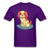 Happy Puppy 2 - Unisex - purple