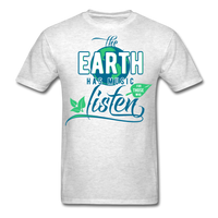 The Earth Has Music - Men's Tee - light heather grey