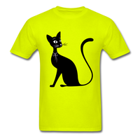 Lady Black Cat - Men's - safety green
