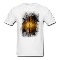 Brown and White Fractal - Unisex - white