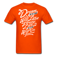 Dream As If - Men's - orange