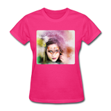 Beautiful Lady Butterfly2 - Women's - fuchsia