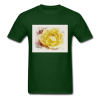 Yellow Rose - Unisex - forest green