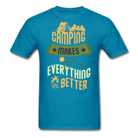 Camping Makes Everything - Unisex - turquoise