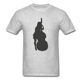 Lady with a Cello - Men's - heather gray