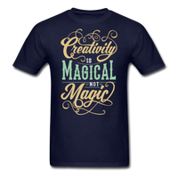 Creativity is Magical not Magic - Men's - navy