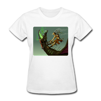 Elf on a Dragon - Women's - white