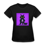 Satisfied Black Cat - Women's - black