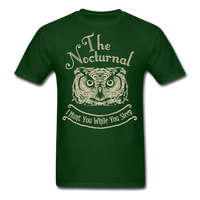 Nocturnal Owl - Unisex - forest green