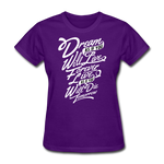 Dream As If -  Women's - purple