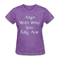 Align With - Ladies - purple heather