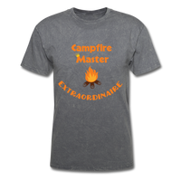 Campfire Master Extraordinaire Men's T-Shirt - mineral charcoal gray