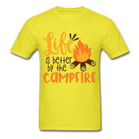 Life is Better Campfire - Men's - yellow