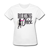 Boxing Chick - Women's - white