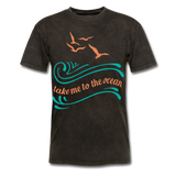 Take Me to the Ocean - Unisex - mineral black