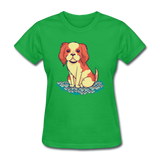 Happy Puppy - Women's - bright green
