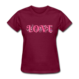 Love Design - Women's - burgundy