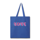Love Design - tote2 - royal blue
