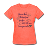 Shake the Sand - Women's - heather coral