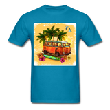 VW Bus Surfing - Unisex - turquoise