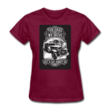 The Cars We Drive - Women's - burgundy
