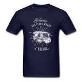 Home the Place Where I belong - Men's - navy