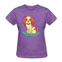 Happy Puppy - Women's - purple heather