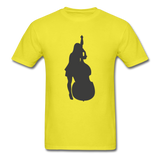 Lady with a Cello - Men's - yellow
