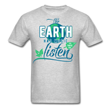 The Earth Has Music - Men's Tee - heather gray