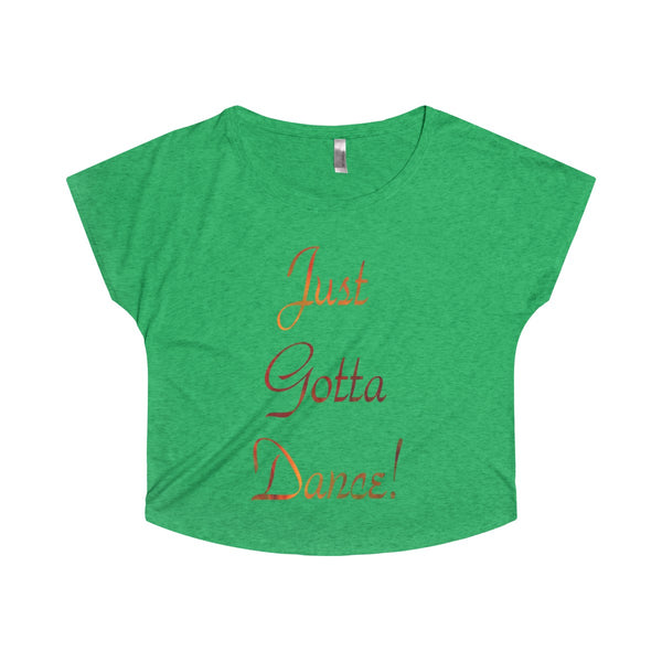 Just Gotta Dance!  Design #7 - Dolman Sleeves