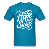 Hope Never Sleep - turquoise