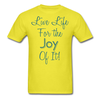 Life Life Joy - Unisex - yellow