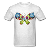 Patterned Butterfly - Men's - light heather grey
